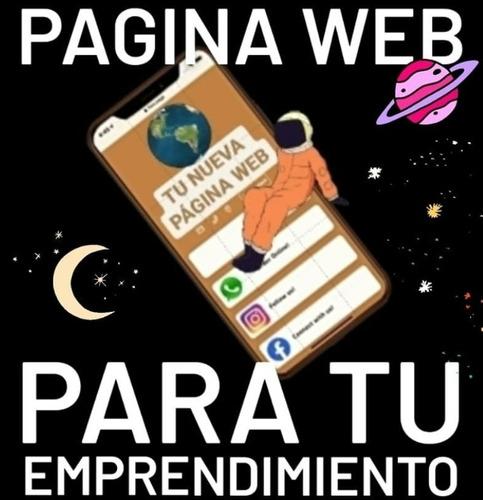 Imagen 1 de 1 de Página Web Para Comercios + Cartel Con Acceso Qr