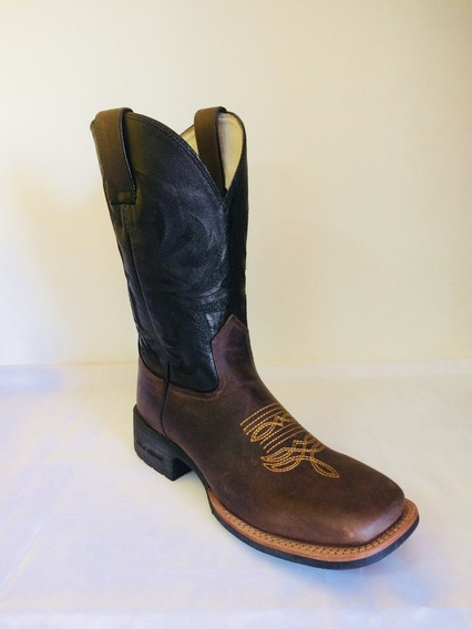 Bota Brazil Country 3628x3 Crazy Horse Café/np Black