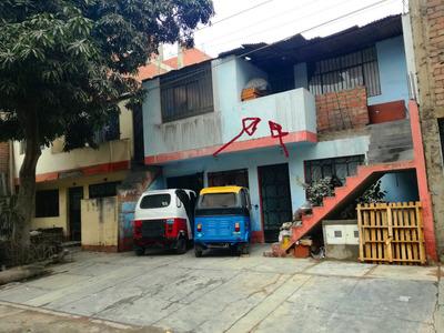 Venta Casa 2 Pisos A Media Cuadra De Avenida Principal