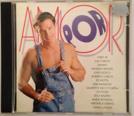 Cd Trilha Sonora Da Novela - Por Amor Nacional. Ano 1997.