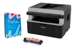 Impresora Brother Dcp 1617wifi 21 Cpm Laser + Toner + Resma