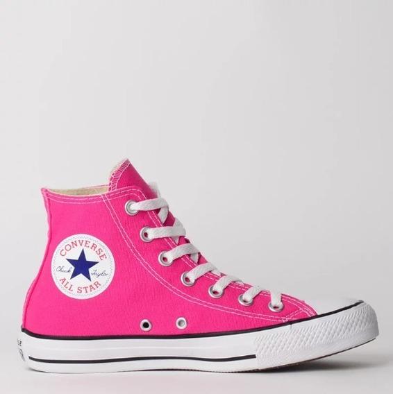 Tênis Converse Chuck Taylor All Star Hi Pink Ct04190033