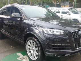 Audi Q7 Elite 3.0 Lts Aut 2014 Gris Lava 2014 7 Pasajeros