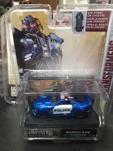 Auto Transformers Metals Die Cast Barricade Magic4ever