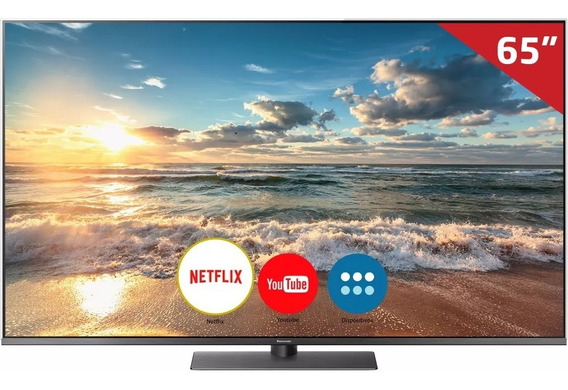 Smart Tv Led 65 Tc-65fx800b Panasonic, 4k Hdmi Usb E Painel Art Glass