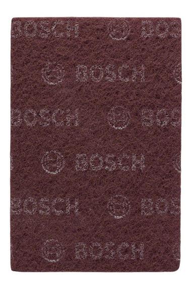 Paño Abrasivo Para Acabado Mate Grano Muy Fino Bosch Bordo
