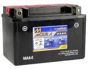 Bateria Moura Moto Tr 200 Cb 400 Xr 650 Oferta Ma8e 12v 8ah