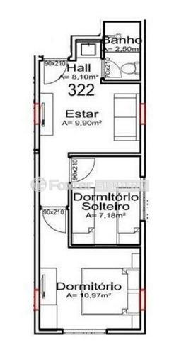 Imagem 1 de 11 de Flat, 2 Dormitórios, 36.17 M², Portico - 154193