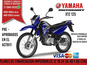 Yamaha Xtz 125 2018 0km Motoswift