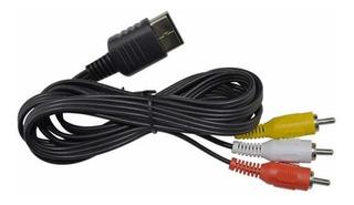Cable Rca Audio Y Video Para Sega Dreamcast
