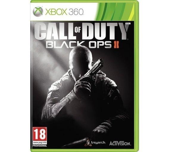 Call Of Duty Black Ops 2 X360 Física Original Frete Grátis