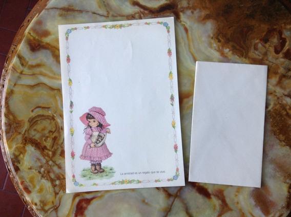 Papel Carta Antiguo Coleccionable -años 80 -vintage
