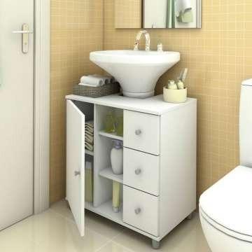 Gabinete Para Banheiro Sem Cuba
