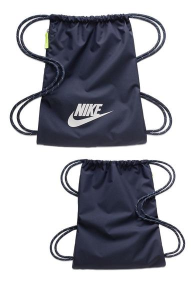 Sacola Nike Heritage 2.0 Unissex Ba5901-451 Marinho