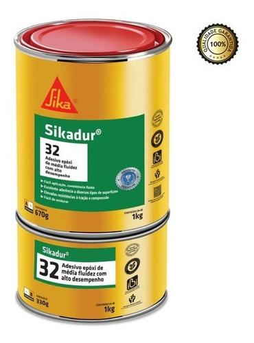 Imagem 1 de 1 de Adesivo Cola P/ Ferro Concreto Trinca Sikadur Epoxi 1kg Sika