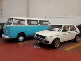 Volkswagen Caribe Placas Antiguas Ag*