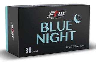 Blue Night - 30 Cápsulas - Ftw