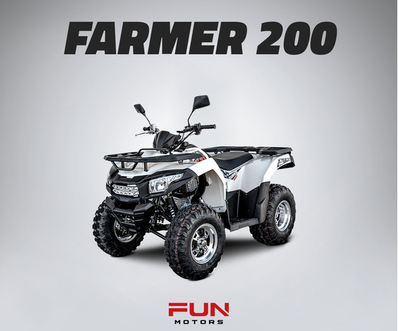 Quadriciclo Fun Motors Farmer 200cc Quadri E Cia Off