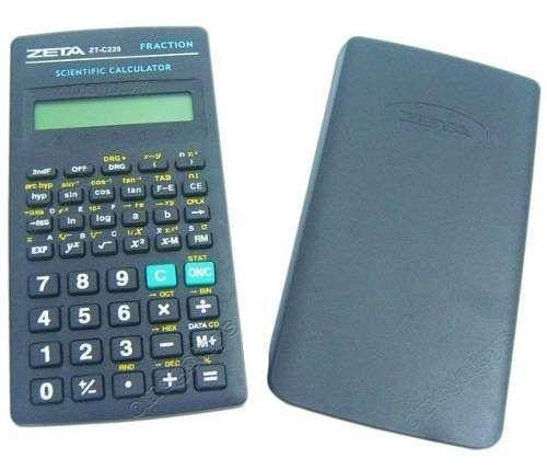 Calculadora Científica Zeta Zt-c220 Científica De 56 Funções