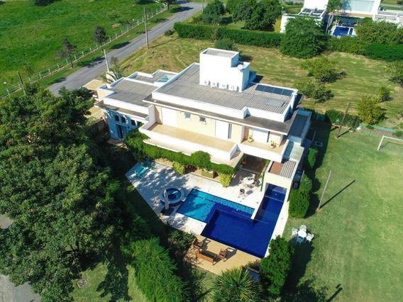 Casa De Condomínio À Venda, 5 Quartos, 4 Vagas, Condomínio Haras Paineiras - Salto/sp - 4323