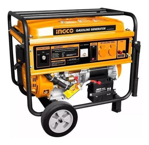 Generador A Nafta 4 Tiempos 5500w Ingco Ge55003 + Obsequio!