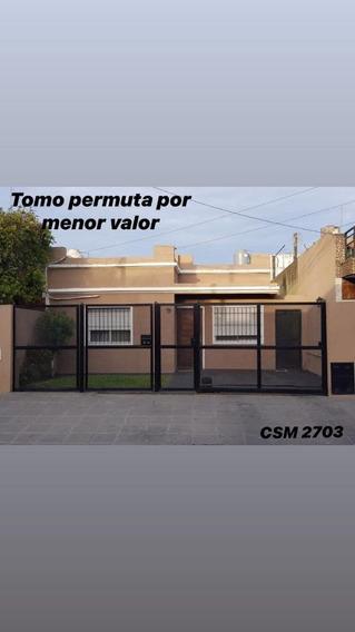 Casa Venta 3 Ambientes San Martín C/piscina|parque|parrilla