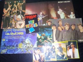 Posters Y Fotos De Música De Los 80 ¡lote En Oferta!