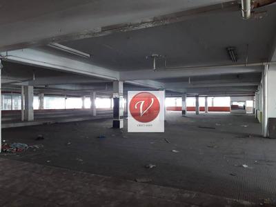 Galpão Comercial Para Venda E Locação, Centro, Santo André - Ga0146. - Ga0146