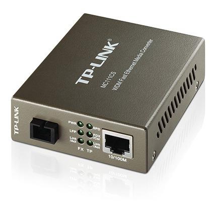Conversor Midia Mc111cs Tp-link Conversor Fibra Mc-111cs