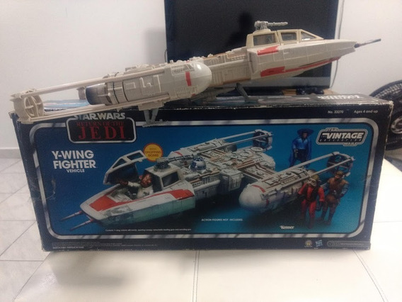 Y-wing Fighter Vehicle - Exclusive Toys R Us.