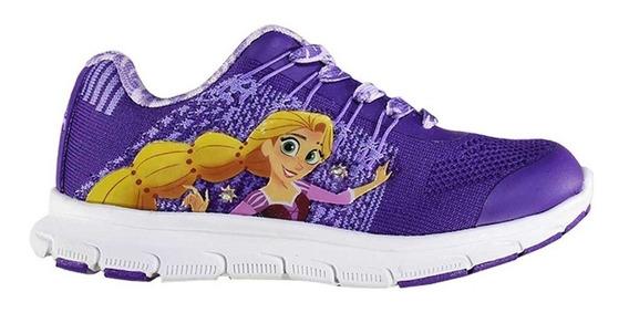 Zapatillas Addnice Flex Rapunzel Cordon Violetas De Niños