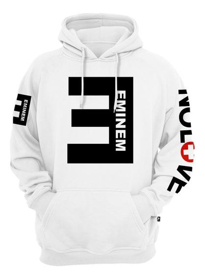 Blusa Moletom Eminem Nolove Rap Casaco Canguru Promoção
