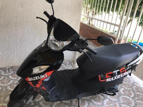 Motocicleta Susuki Lets Modelo 2021