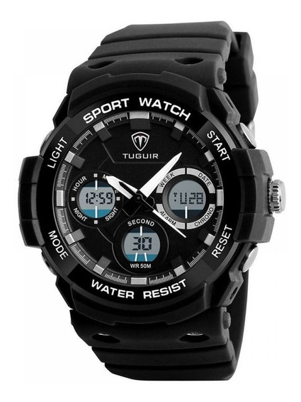 Relógio Digital G Shock Tuguir Original Barato Dj0107