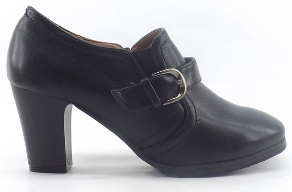 Zapato Mocasin Barker 404 Dama Mujer Comodo Taco Alto Nuevos