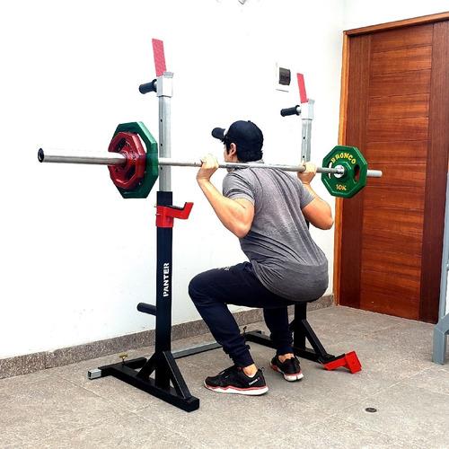 Rack, Soporte, Estacion Para Sentadillas, Press Y Calistenia
