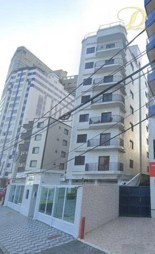 Imagem 1 de 10 de Apartamento De 2 Quartos Com Sacada, Elevador E Garagem À Venda Em Praia Grande, Aceita Financiamento Bancário!!! - Ap4487