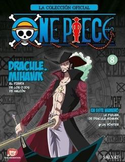 Coleccion Figuras One Piece Nº 8 - Dracule. Mihawk - Salvat
