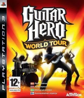 Guitar Hero World Tour Usado Ps3 Entrega Inmediata Gh