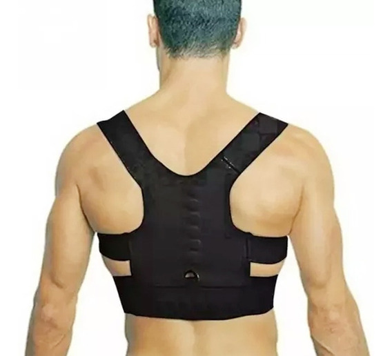 Faja Corrector De Postura Imanes Terapeuticos Dolor Espalda