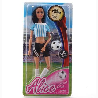 Muñeca Con Pelota Futbol 861