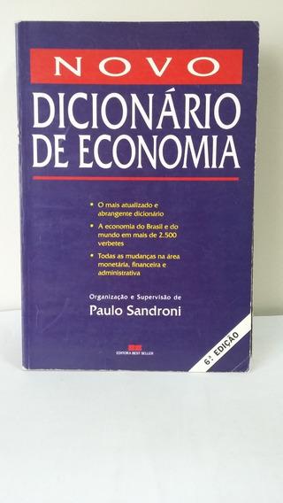 Novo Dicionário De Economia 6ª Edição