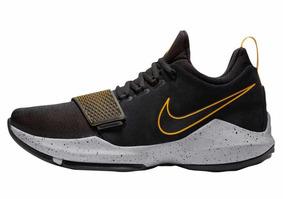 Tenis De Basquetbol Nike Pg 13 29mex 878628 006 Black/gold