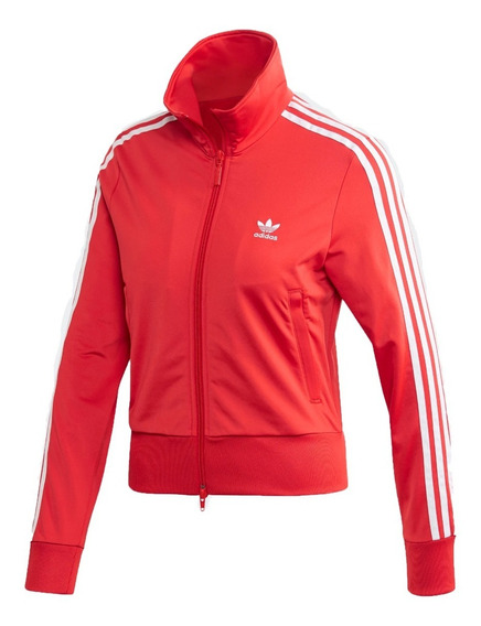 adidas Originals Campera Lifestyle Mujer Firebird Rojo