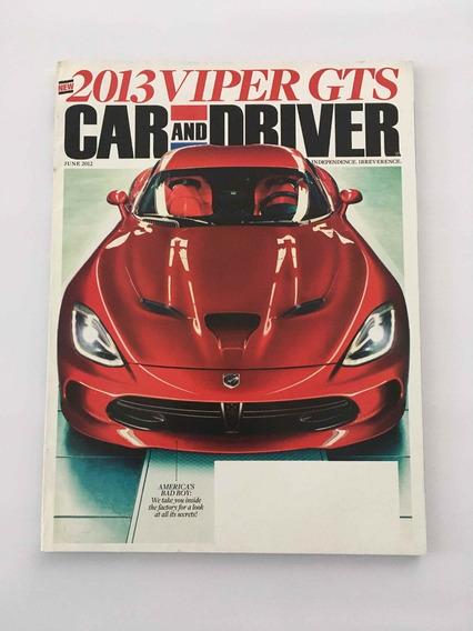 Revista Drive And Car - Junho 2012 Viper Gts