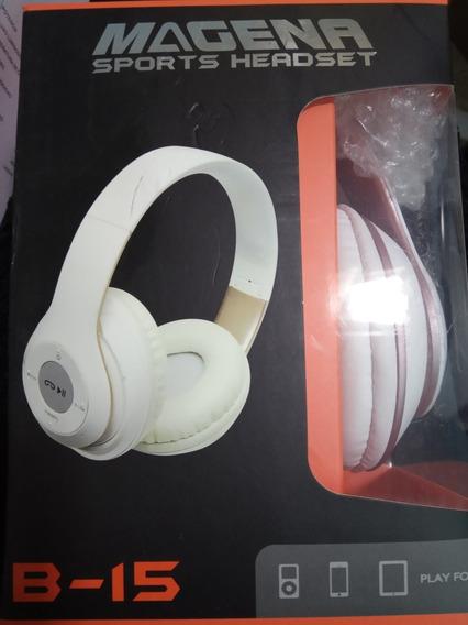 Headphone Headset Bluetooth / P2 Magena B-15