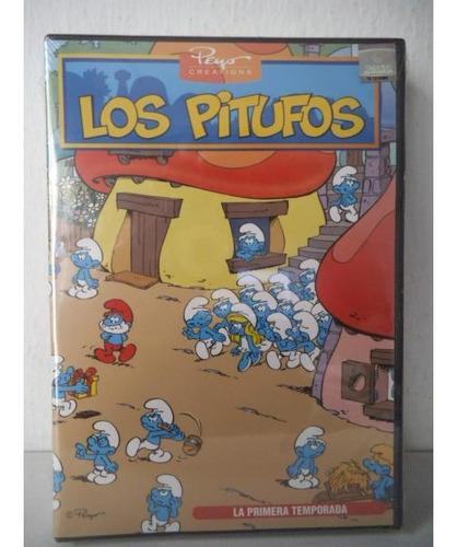 Los Pitufos Primera Temporada Dvd 4 Discos