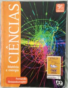 Ciências - Matéria E Energia - 9º Ano