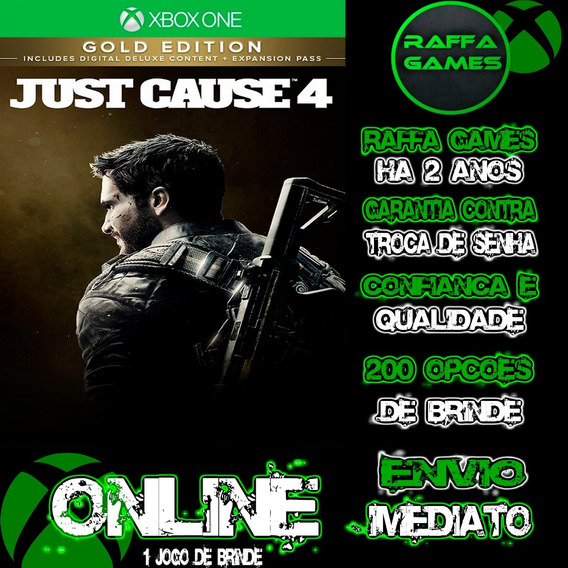 Just Cause 4 Gold Edition Xbox One Online + Brinde