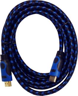 Pack X5 Cable Hdmi 3 Mtrs 2k/4k Versión 2.0 .: Mundotecno :.